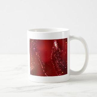 fluid, red mug