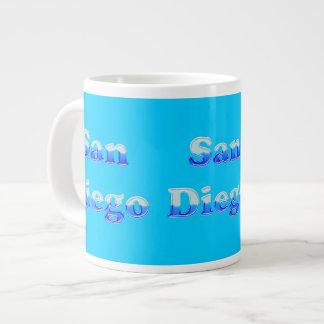 Fluid San Diego - On Aqua Extra Large Mug