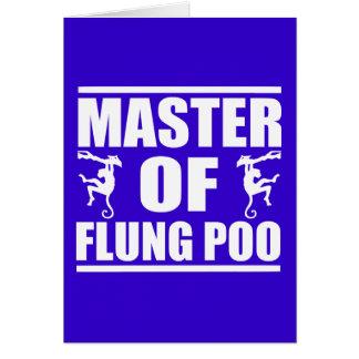 Flung Poo Master Card