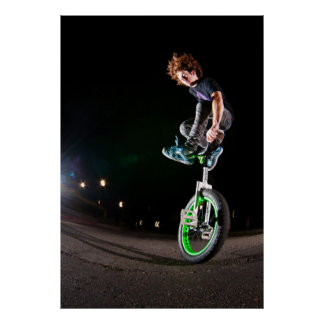 Fluo Jump Posters