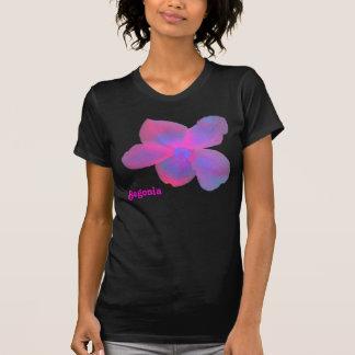 Fluorescent Begonia Customizable T Shirt