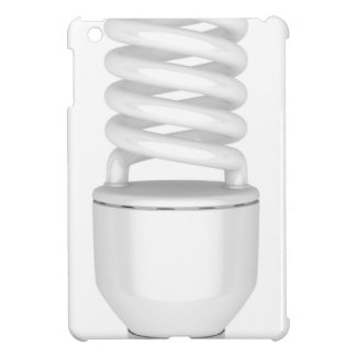 Fluorescent light bulb iPad mini case