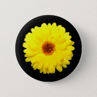 Fluorescent Marigold Button