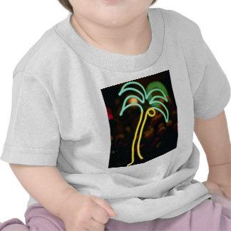 Fluorescent palm tree at Seafair, Dania, Florida, Shirts