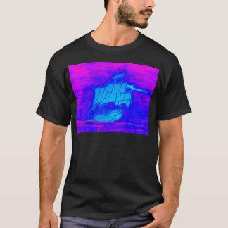 fluorescent sailboat 1 T-Shirt