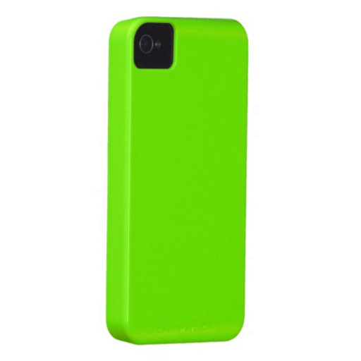 Fluoro Lime-Green iPhone Case Case-Mate iPhone 4 Case