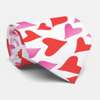 Flurry of Love Hearts Tie