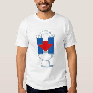 Flush Hillary T-shirts
