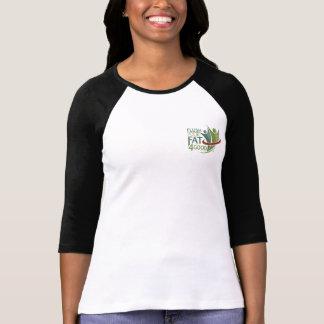 Flush Your Fat 4Good t-shirt raglan sleeve