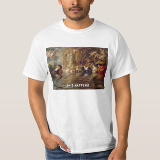 FLUSHED FROM THE BATHROOM OF YOUR HEART TSHIRTS