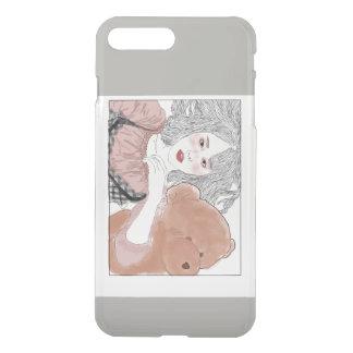 flushed girl iPhone 8 plus/7 plus case