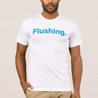 Flushing (cyan) T-Shirt