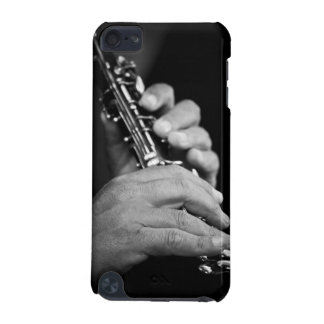 Flute being played in black and white by gypsy iPod touch 5G case