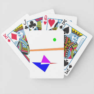 Flute Bicycle Playing Cards
