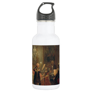 Flute Concert with Frederick the Great Sanssouci 532 Ml Water Bottle