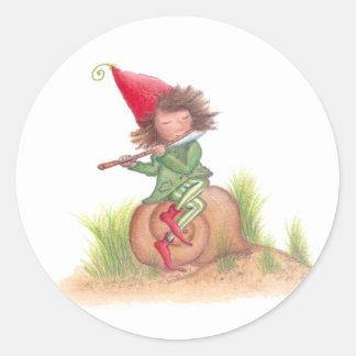 Flute Elf Sticker