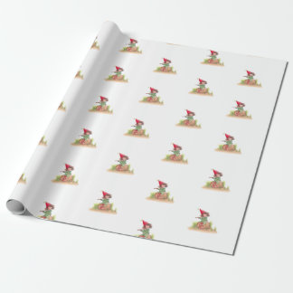 Flute Elf Wrapping Paper