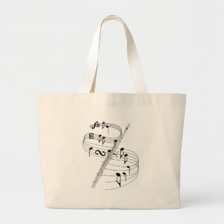Flute Jumbo Tote Bag