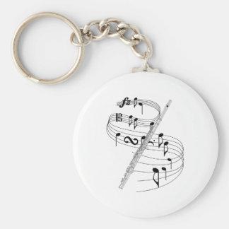 Flute Keychains