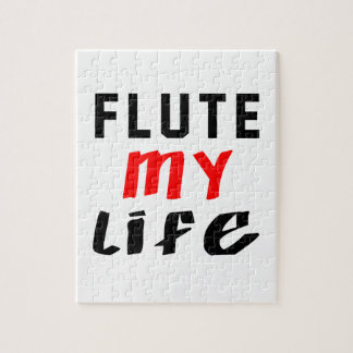 Flute my life jigsaw puzzle