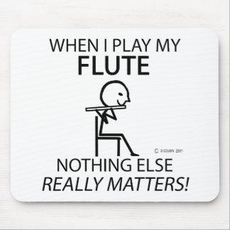 Flute Nothing Else Matters Mousepad