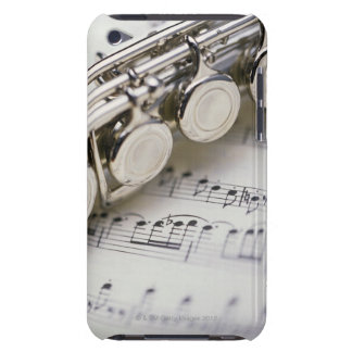 Flute on Sheet Music Barely There iPod Cases