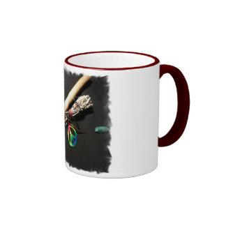 Flute, Peace and Sage Coffee Mug