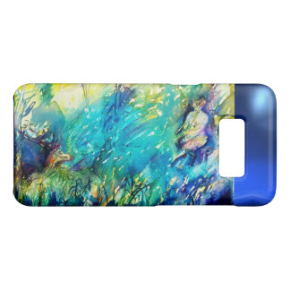 FLUTE PLAYING PAN AND DEER IN GREEN FOREST Case-Mate SAMSUNG GALAXY S8 CASE
