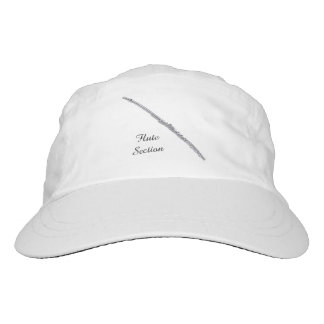 Flute Section Customizable Text Hat