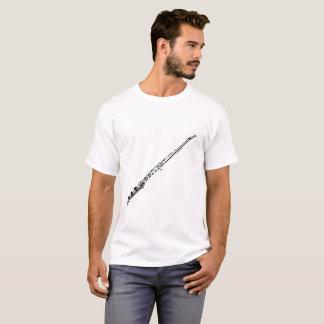 Flute Silhouette White T-Shirt