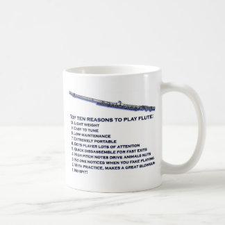 Flute Top 10 Coffee Mugs