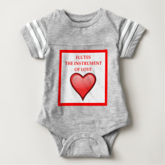 FLUTES BABY BODYSUIT