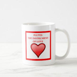 FLUTES COFFEE MUG