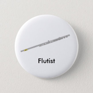 Flutist button