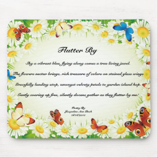 Flutter By Poem Mouse Pad