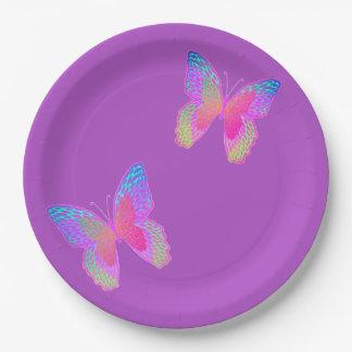 Flutter-Bye(s) paper plate