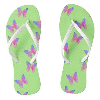 Flutter-Byes (green) flip-flops Thongs