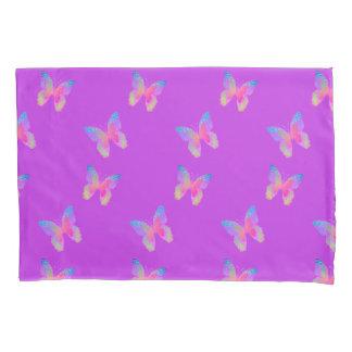 Flutter-Byes (violet) pillow case