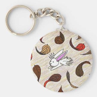 Flutterby Bunny Autumn Keychain
