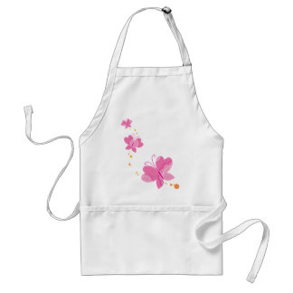 FLUTTERBY BUTTERFLIES series of three 1 Aprons