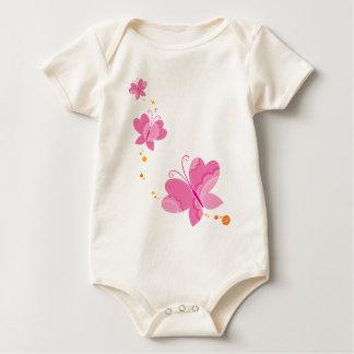 FLUTTERBY BUTTERFLIES :: series of three 1 Baby Bodysuit