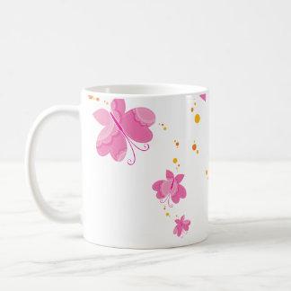 FLUTTERBY BUTTERFLIES :: series of three 1 Coffee Mug