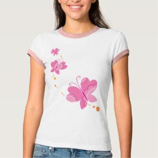 FLUTTERBY BUTTERFLIES :: series of three 1 T-shirt