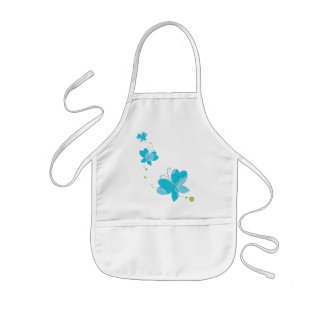 FLUTTERBY BUTTERFLIES series of three 2 Aprons