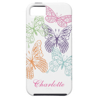 Fluttering Butterflies iPhone 5 Case-Mate Tough