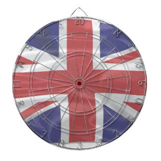 Fluttering Silk Union Jack Dartboard