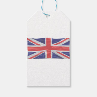 Fluttering Silk Union Jack Gift Tags