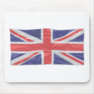Fluttering Silk Union Jack Mouse Pad