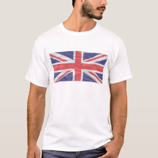Fluttering Silk Union Jack T-Shirt