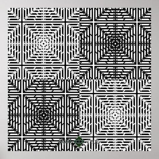 Flux Grid Poster